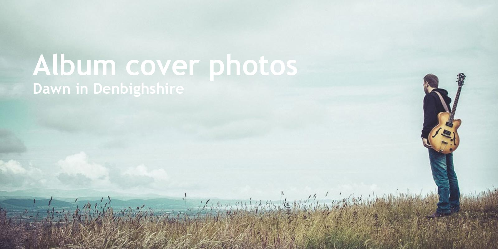 Album cover photos in Denbighshire