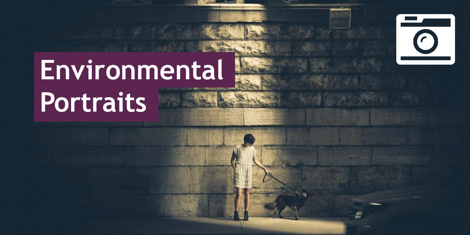Environmental portraits header