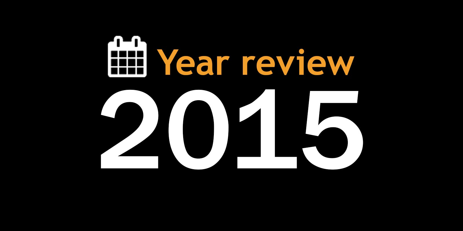 Year review 2015