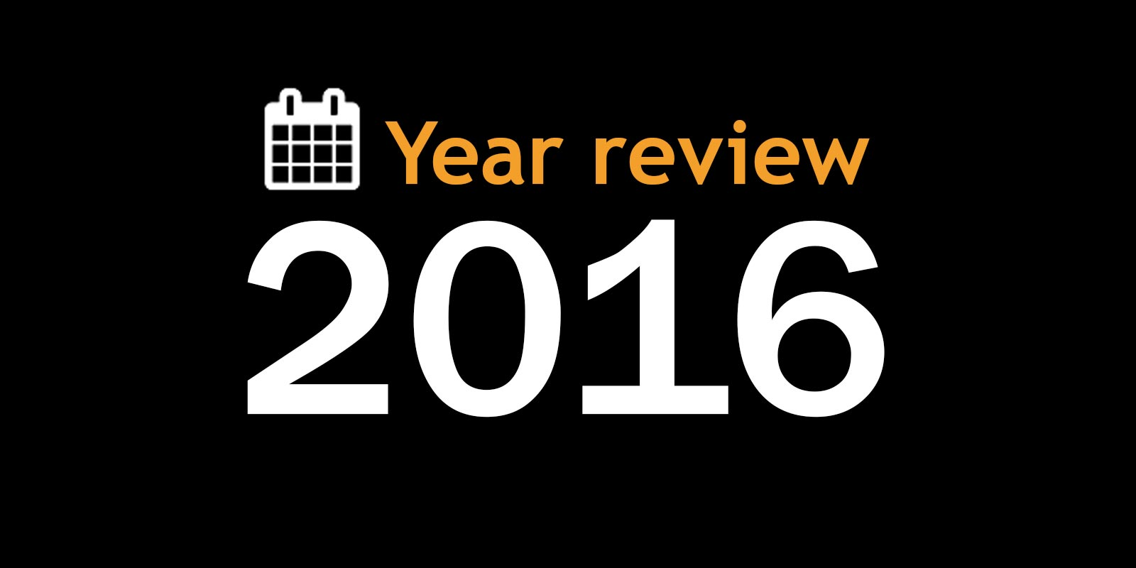 Year review 2016