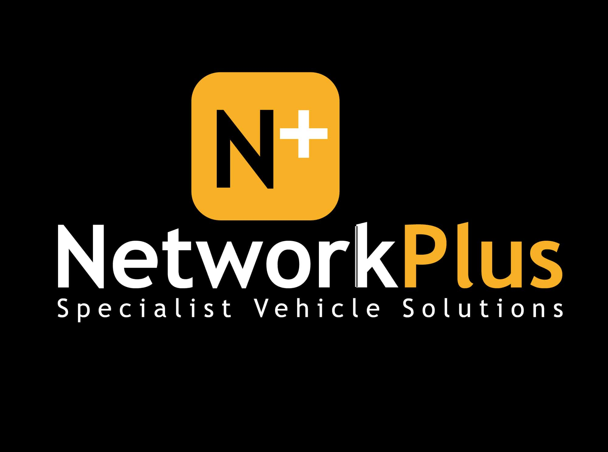 Network Plus logo against black