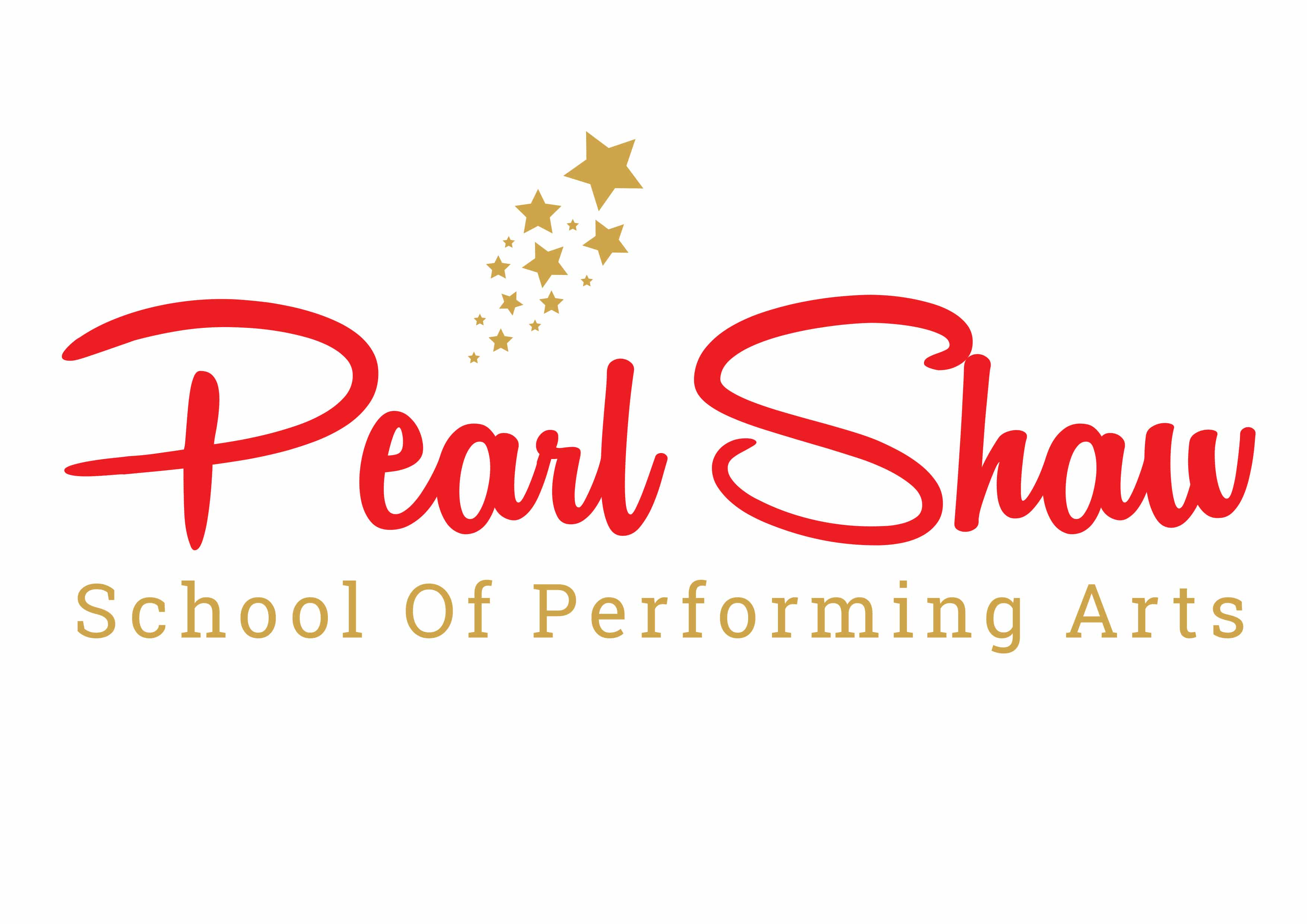 Pear Shaw School Of Performing arts logo against white