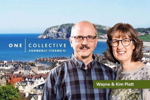 Wayne & Kim Platt - professional portrait